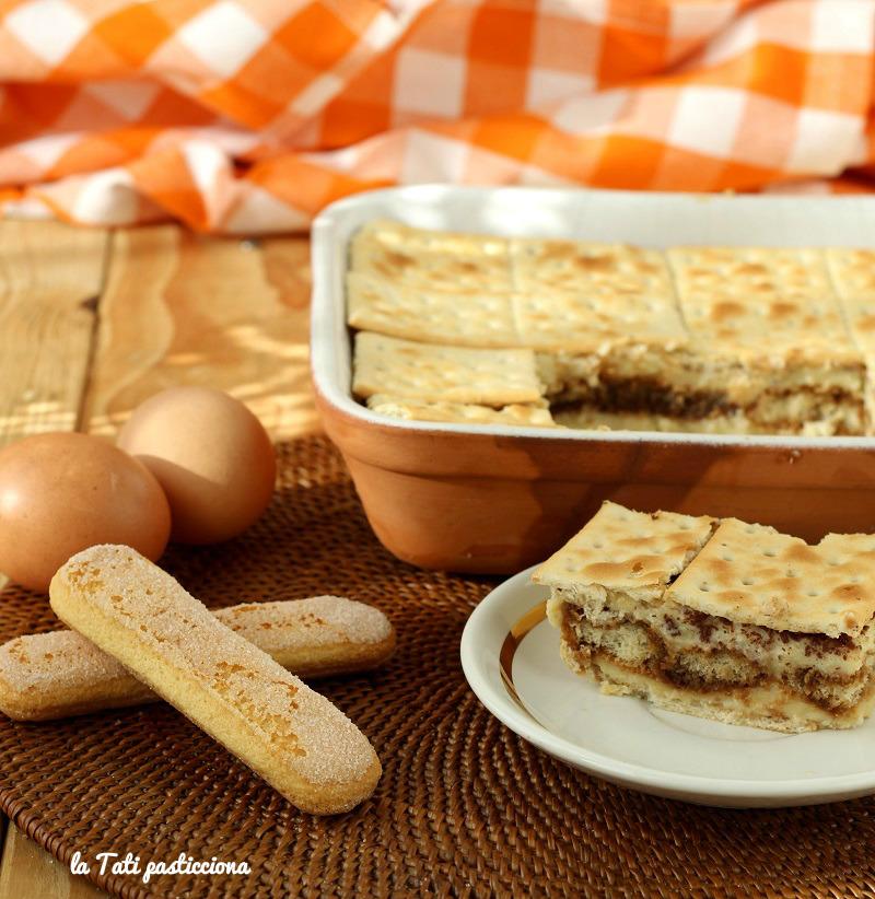 mattonella dolce con crackers FOTO BLOG1