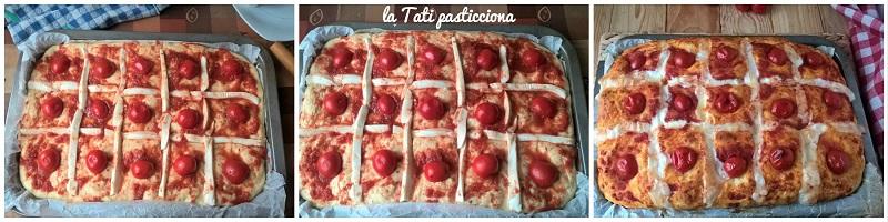 focaccia trapuntata alla pizzaoiola 3