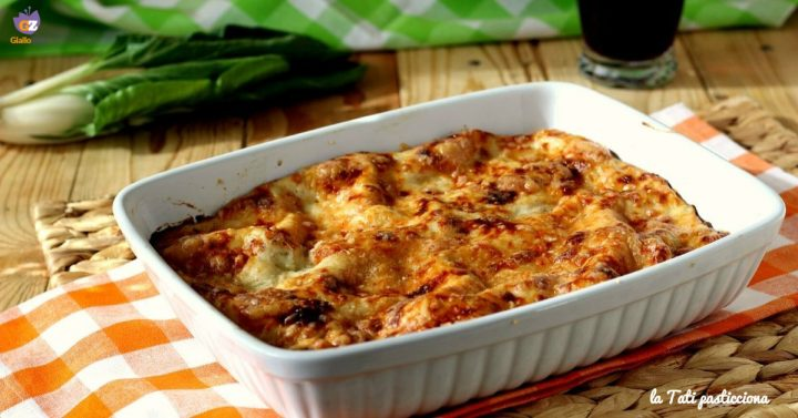lasagne vegetariane con bietole IIE OK
