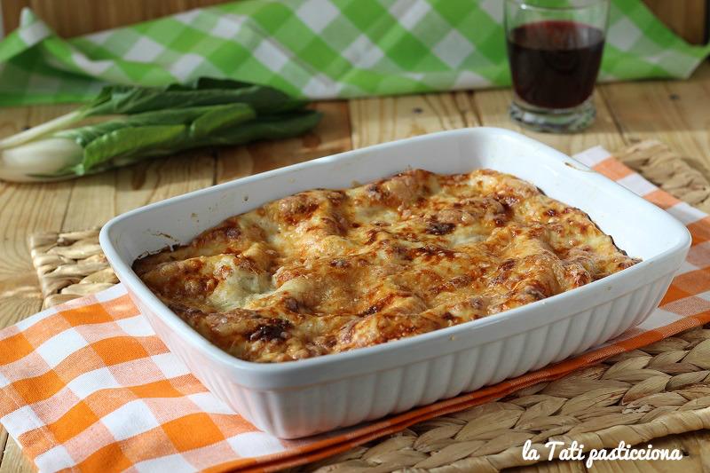 lasagne vegetariane con bietole foto blog 2