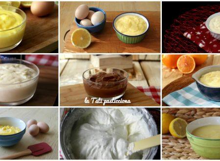 Raccolta di creme dolci