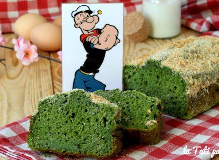 Plumcake Braccio di Ferro (agli spinaci)