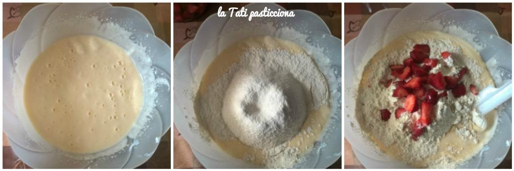 torta soffice ricotta e fragole 2