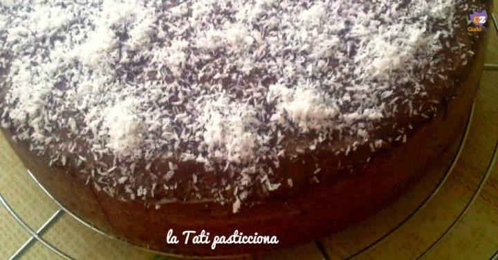 torta al cocco e nutella IMMAGINE IN EVIDENZA