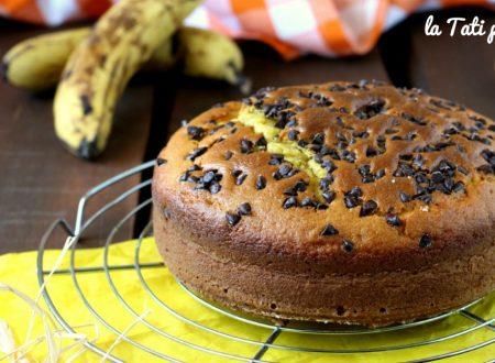 Torta banana e cioccolato