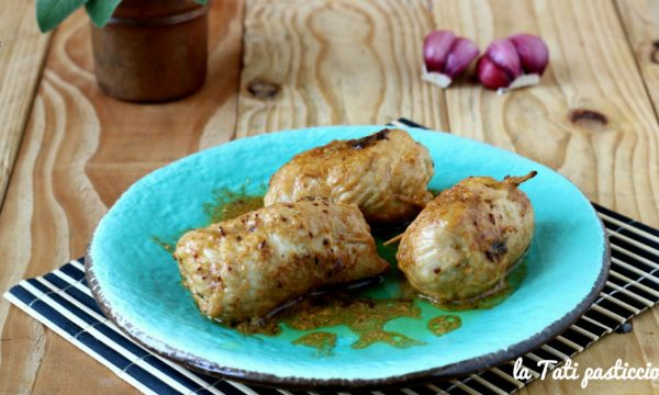 Involtini di pollo con pancetta