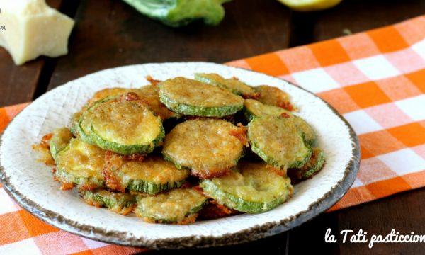 Zucchine aromatizzate limone e parmigiano