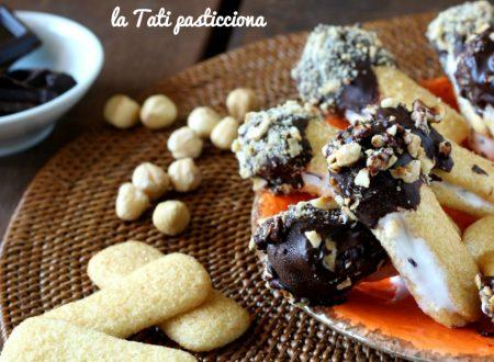 Pavesini gelatosi con cioccolato e nocciole