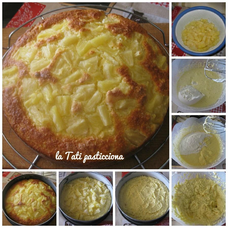 torta ricotta anans e cocco FOTO BLOG