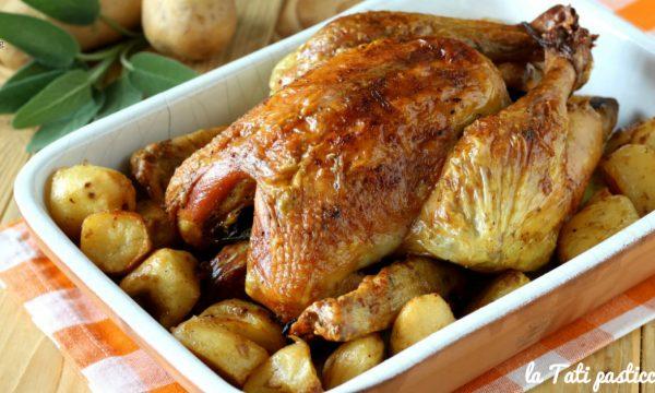 Pollo arrosto della nonna Ines