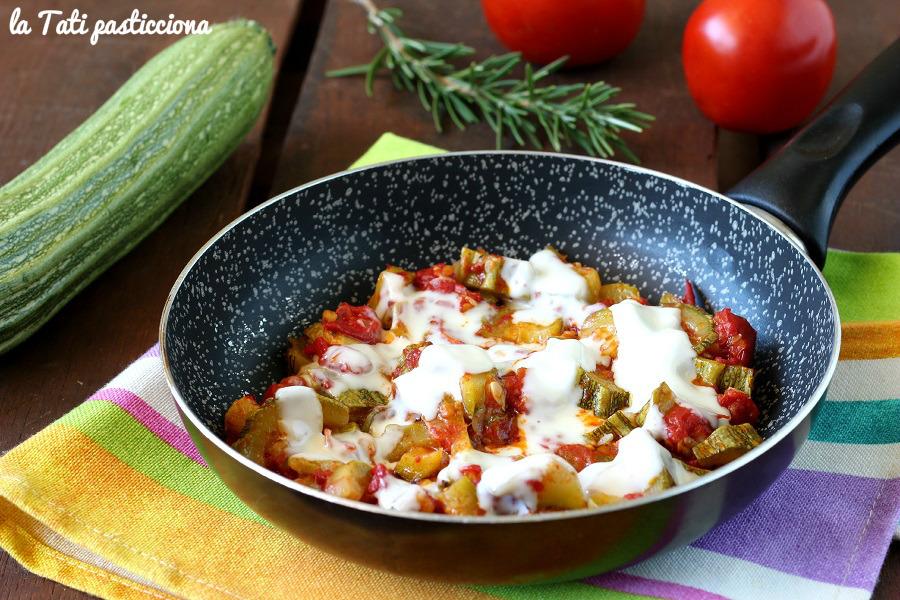 Zucchine Filanti Pomodoro e Rosmarino