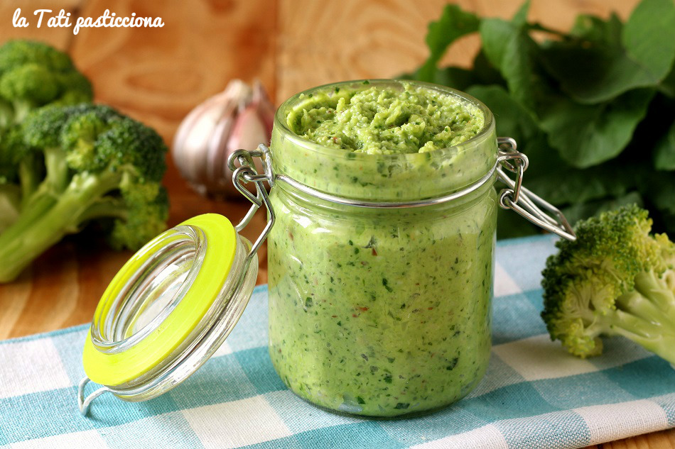 pesto di broccoli e rucola FOTO BLOG 2
