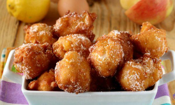Melelle frittelle di mele e ricotta