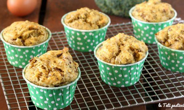 Muffin broccoli e salsiccia