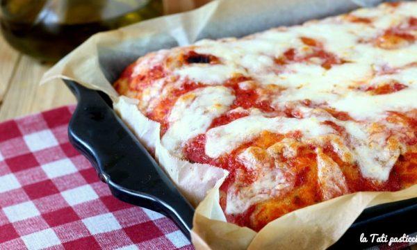 Pizza idratata a lunga lievitazione