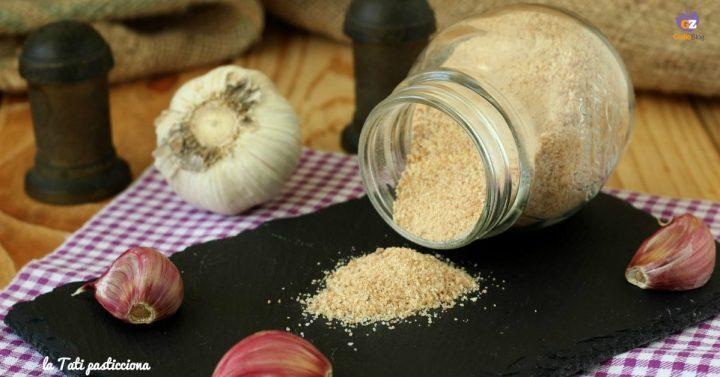 sale aromatizzato all'aglio I I E
