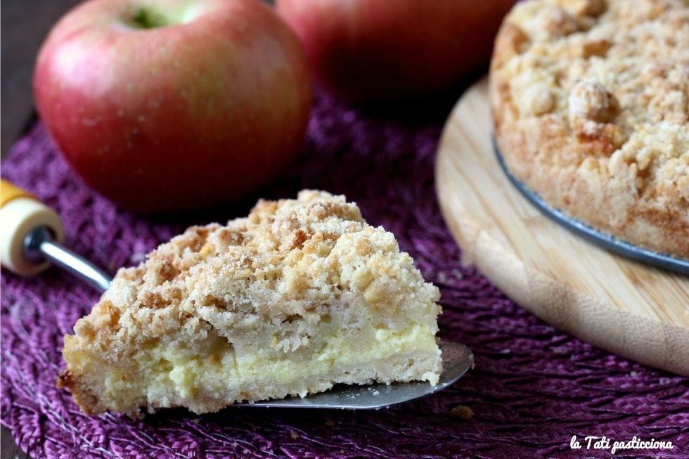 sbriciolata con crema pasticcera alla mela FOTO BLOG 1
