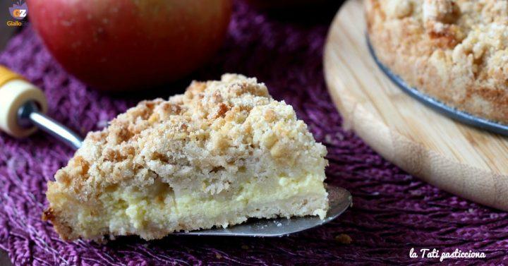 sbriciolata con crema pasticcera alla mela I I E