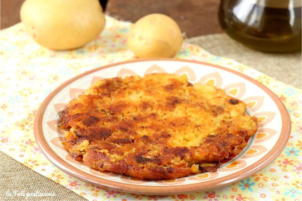 frittata di patate senza uova FOTO BLOG