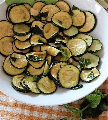 Zucchine alla scapece ricetta al forno