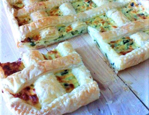 Crostata rustica ricotta e zucchine ricetta svuotafrigo