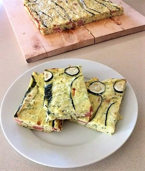sformato di zucchine ricotta e wurstel