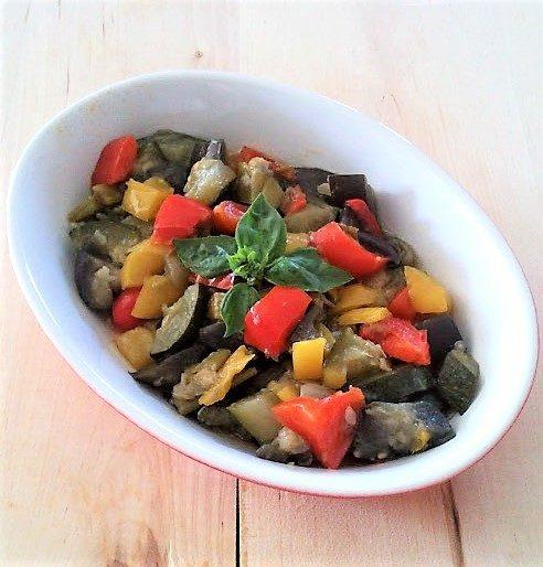 Ratatouille di verdure in padella ricetta originale