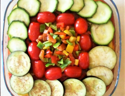 Ratatouille light di verdure al forno ricetta facile