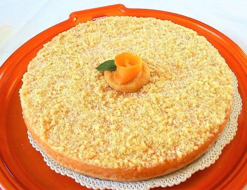 Torta fredda melone e yogurt senza cottura