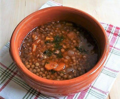Zuppa di lenticchie ricetta semplice e gustosa