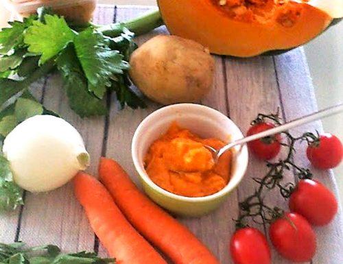 Dado vegetale fatto in casa senza conservanti