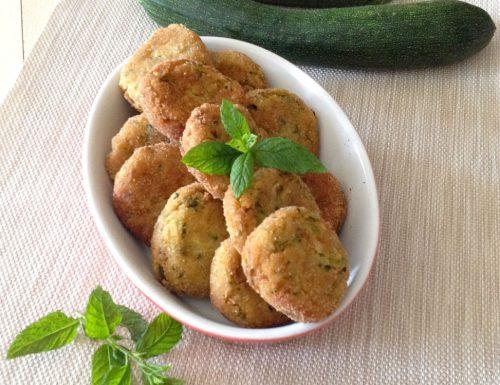 Polpette di zucchine in padella facili