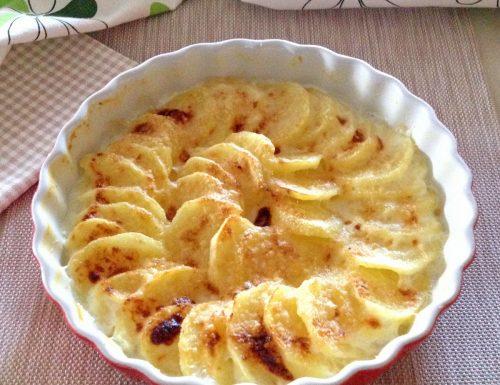 Patate al latte ricetta per microonde