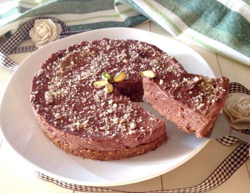Cheesecake alla nutella senza colla di pesce