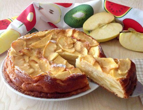Torta invisibile di mele e cannella