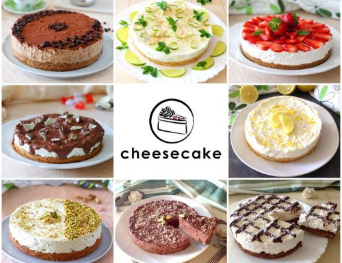 Raccolta di Cheesecake per tutti i gusti