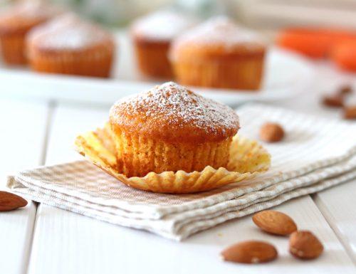 Muffin alle carote e mandorle tipo camille