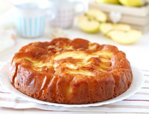 Torta con le mele 5 minuti senza fruste elettriche