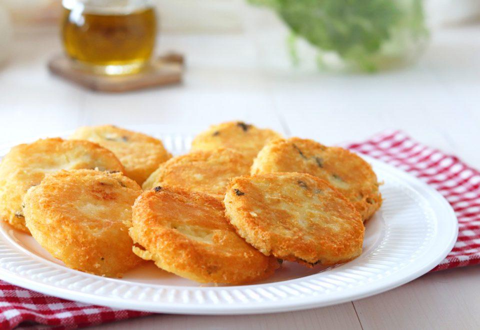 Burger di patate semplici