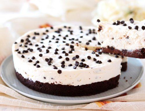 Cheesecake alla ricotta e cioccolato