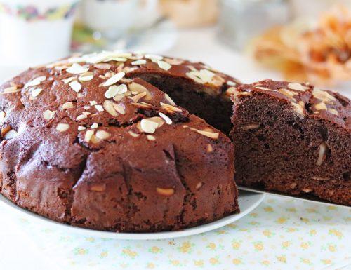 Torta al cacao e mandorle in 5 minuti