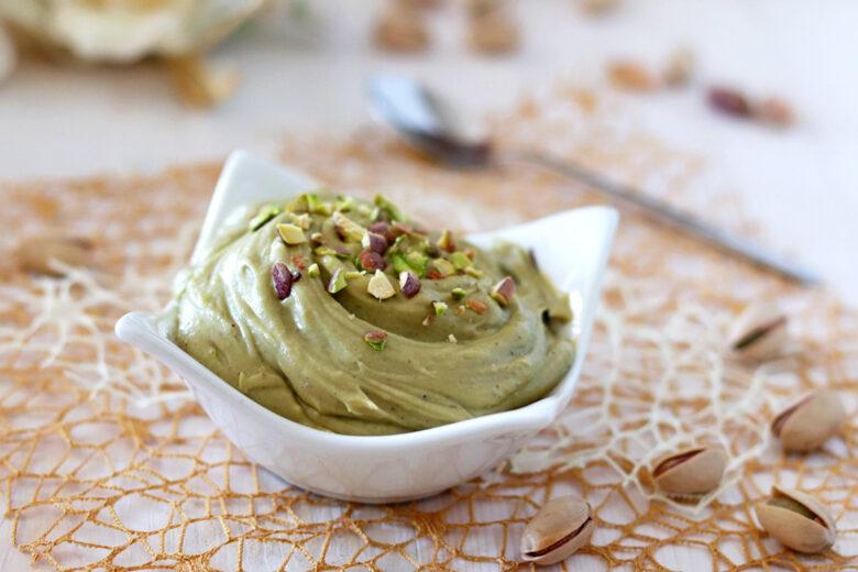 Crema di pistacchio e mascarpone per torte