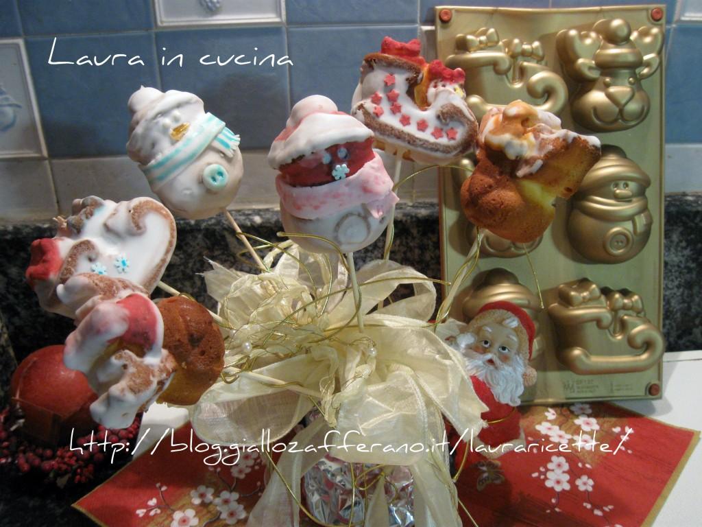I pandorini  di babbo Natale,ricetta dolce