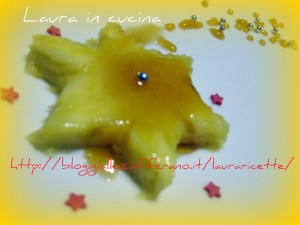 Stelline di Ananas,ricetta facile