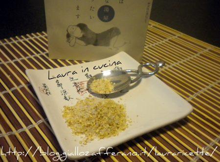 Gomasio casalingo,ricetta