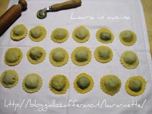 Cascioni agli spinaci