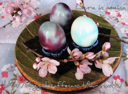 Uova pasquali marmorizzate