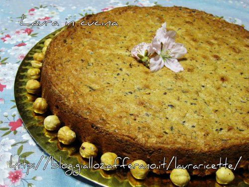 Torta nocciole e cioccolato ,ricetta dolci
