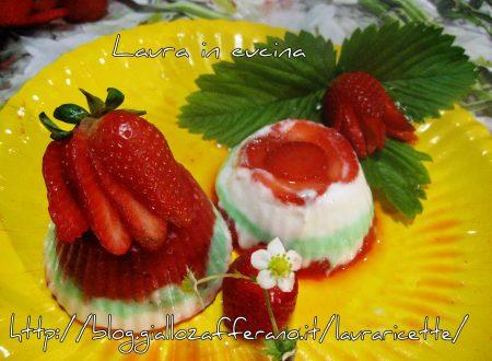 Tortini di fragole e crema al mandarino Varnelli