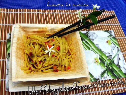 Una ricetta anticaldo : saporito BamiGoreng !!